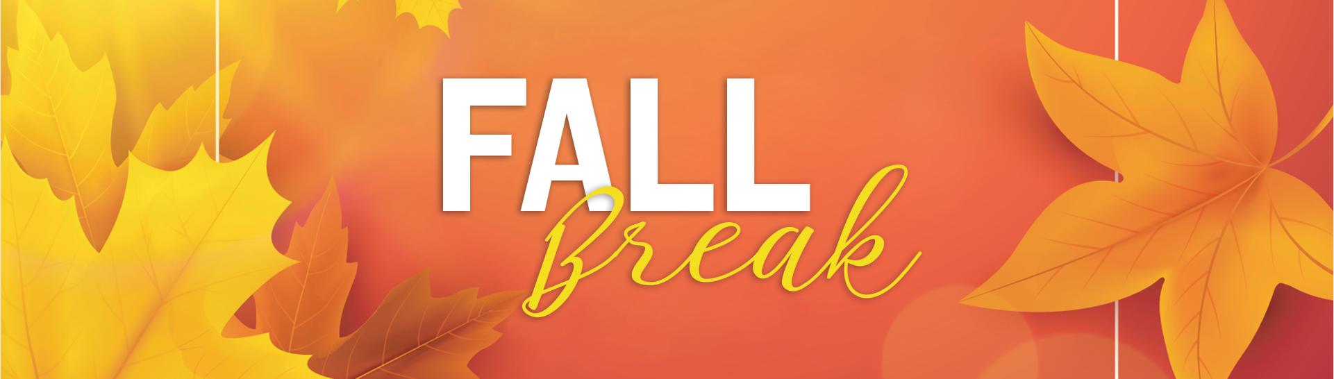 Fall Break - SS Dixon Intermediate PTSO